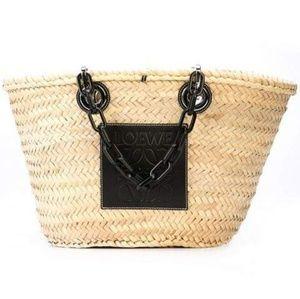NWT Loewe Basket Chain Handbag